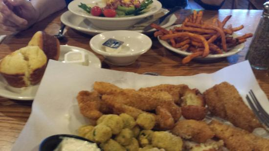Cracker Barrel: Friday catfish dinner