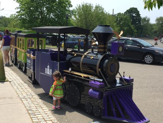 Stepping Stones Museum for Children: Train ride