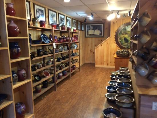 Alewine Pottery at the Village