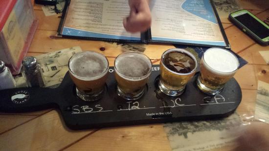 Category Three Bar & Grill: Islamarada  Beer sampler