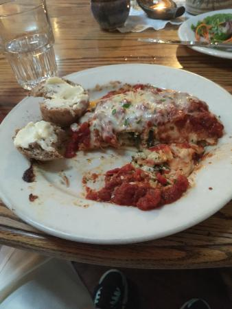 Adam's Mountain Cafe: Natural Lasagna
