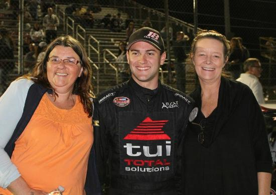 New Smyrna Speedway: Meet the drivers, Zack fan !!!