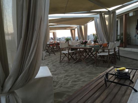 Locale - Picture of Bagno Italia Restaurant, Marina di Pisa ...