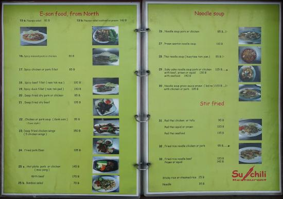 2 pages of their menu reference only not loaded by restaurant