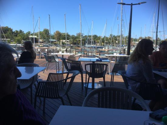 Fantastic place to eat good quailty food picture of bluewater bar and grill cairns tripadvisor - Blue water bar and grill ...