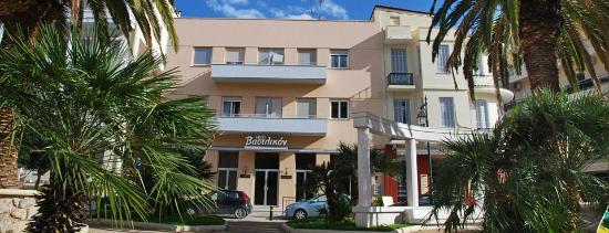 Hotel Vassilikon: Hotel in front