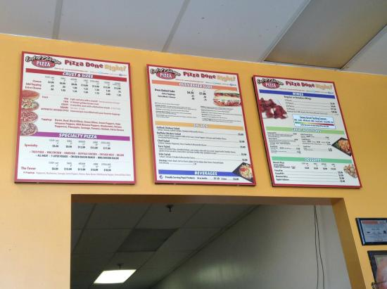 East of Chicago Pizza Menu Prices and Locations in Shreve ...
