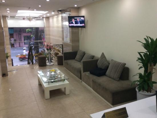 Mai Charming Hotel & Spa : Business center inside of the Hotel