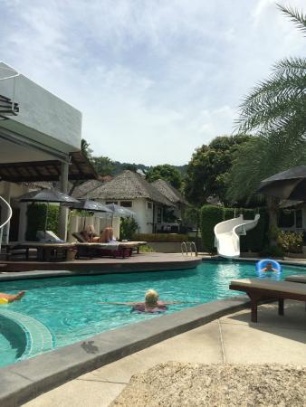 Lazy Day's Samui Beach Resort: Aussicht vom Pool