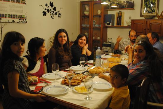 Caseres, Espagne : Cena en la posada
