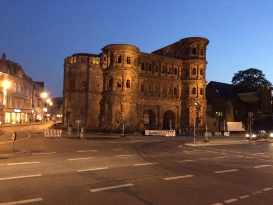 Porta Nigra: Colours change with weather and time of day.
