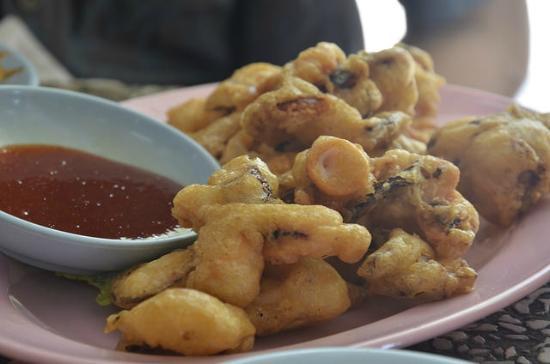 Tan Sam Guan Seafood : Fried squid