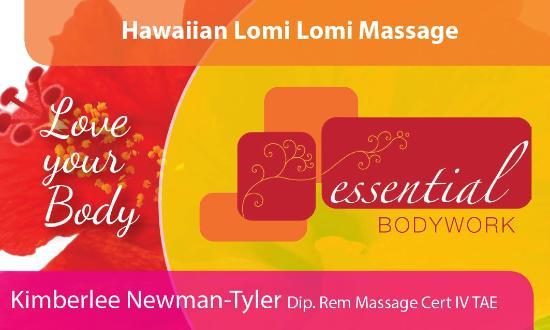 Essential Bodywork: Business Card: Front