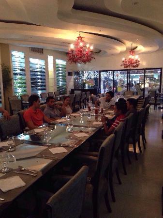 Nice Dining Place Wine Area Picture Of Pino Restaurant Cebu Island Tripadvisor