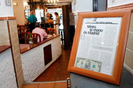 Nines la mano de madrid por carlos herrera fotograf a de restaurante casa perico madrid - Casa perico madrid ...