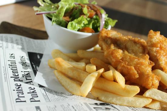 New Plymouth, Nya Zeeland: Fish n Chips