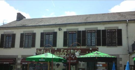 Hotel de france eguzon chantome restaurant avis num ro for Hotel france numero