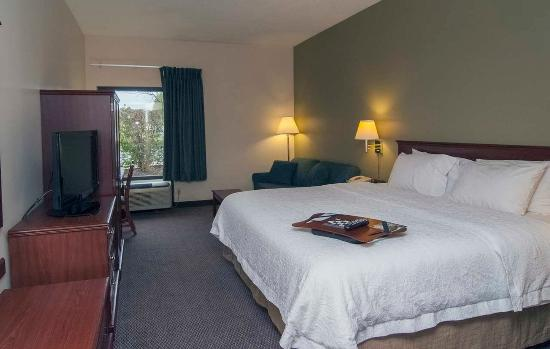 Hampton Inn Flemington: King Room with Sofabed