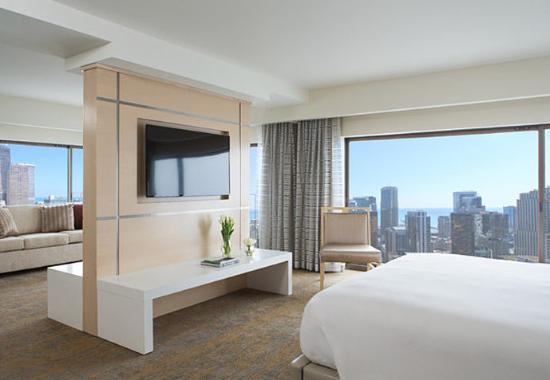 Chicago Marriott Downtown Magnificent Mile: Living Suite Collection