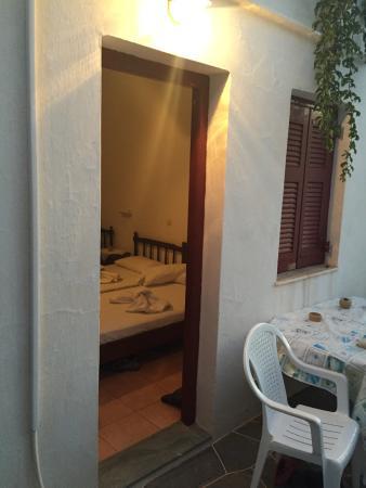 Dorothea Apartments: Fotos fra lejlighed med køkken.