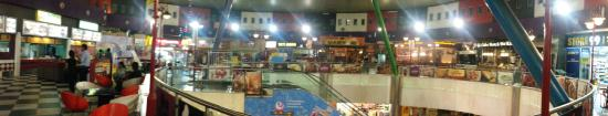 The Great India Place: Food Court of GIP