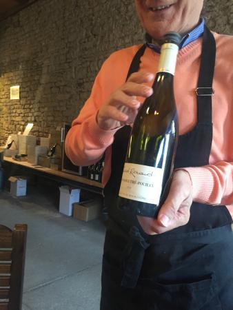 La Cave de l'Ange Gardien: Wine tasting
