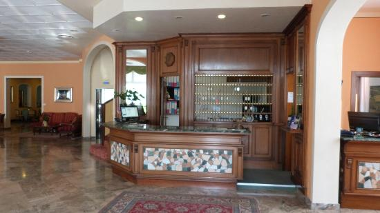 Columbia Terme Hotel : Reception