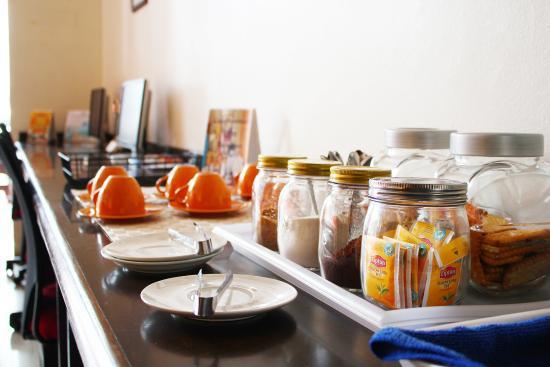 Lub Sbuy Guest House: มุมกาแฟ