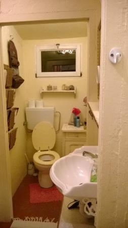 Casa Rosalie : Il grazioso bagno esterno, ma privato