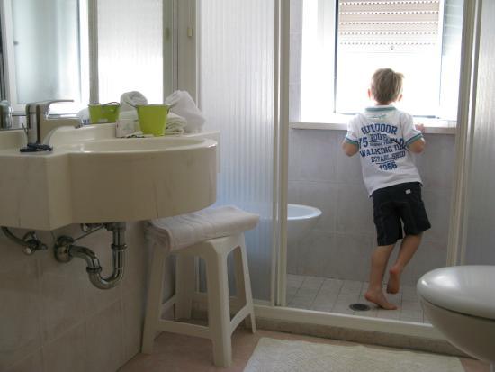 Hotel Solidea: Bagno Stanza singola