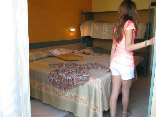 Hotel Solidea: stanza familiare