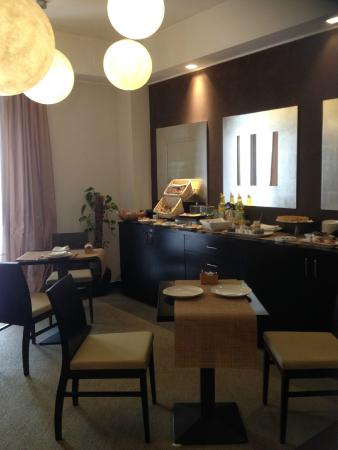 Cassisi Hotel : La sala della colazione