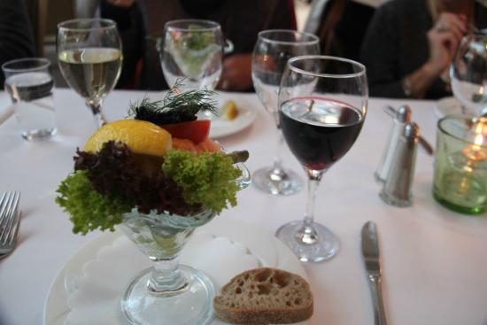 Restaurant Paafuglen, Tivoli: Shrimp cocktail
