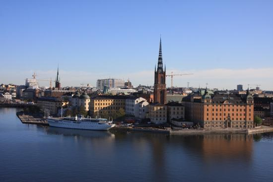 Hotel Hornsgatan: View from monteliusvagen