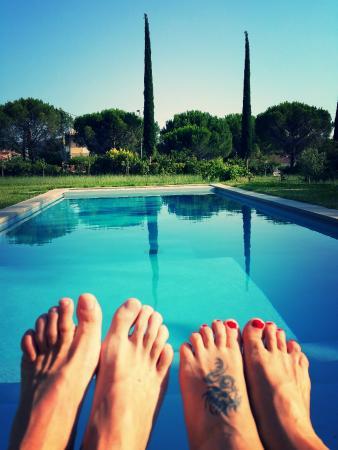 La Campagne: La piscine