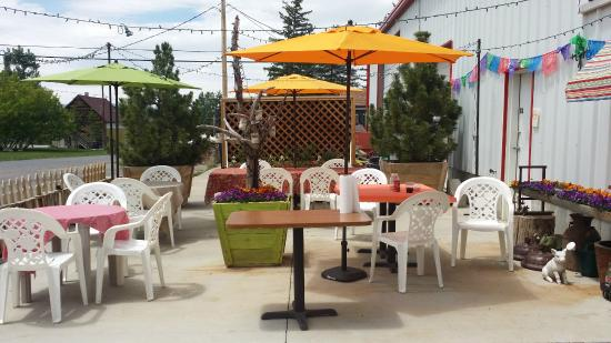 Spring City, ยูทาห์: Best patio in all of Sanpete County