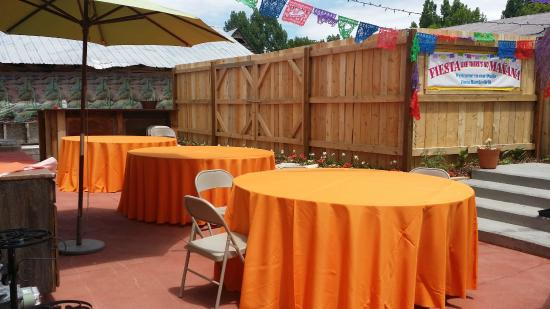 Spring City, ยูทาห์: Reserve private patios for events