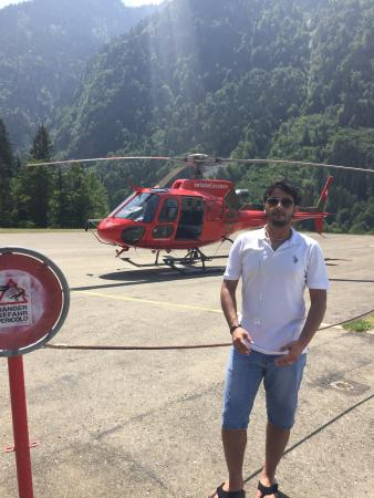 BOHAG Helikopterrundflug: it's a great experience that I won't forget  it in my entire life the only con is that the pric