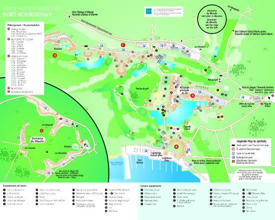 Pierre & Vacances Village Club Port-Bourgenay: Plan