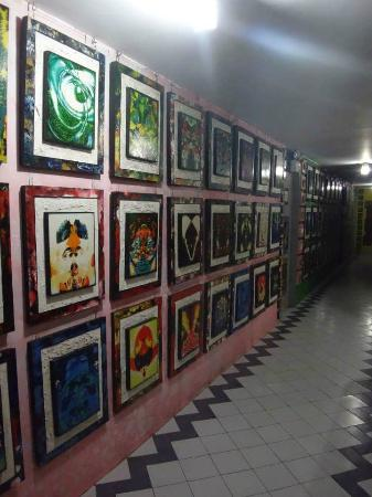 Ponce Suites Gallery Hotel: The artworks