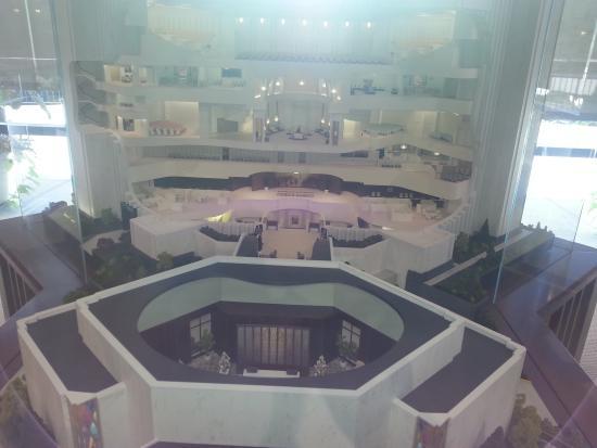 Washington D.C. Temple Visitors' Center: A model