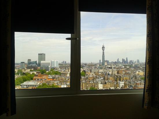 Marylebone Hall : View from Premier level room -  rear aspect