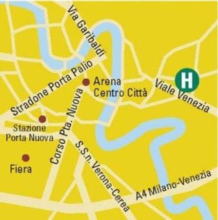 Maxim Hotel: Map