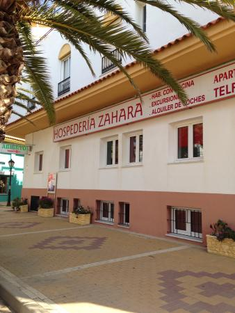Hospederia Zahara: fachada