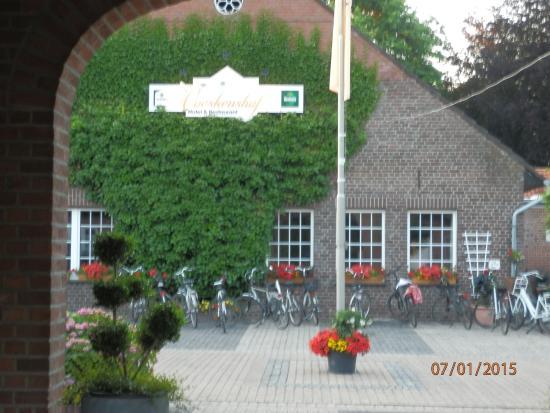 Landgut Voeskenshof: Entry of Landhaus