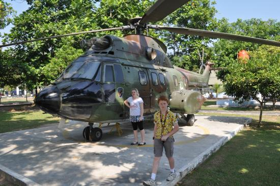 Indonesian Airforce Museum: Helicopter