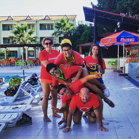 Luana Hotels Santa Maria: animation team