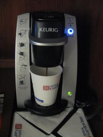 Hilton Garden Inn Detroit Metro Airport: In-room Keurig Coffee