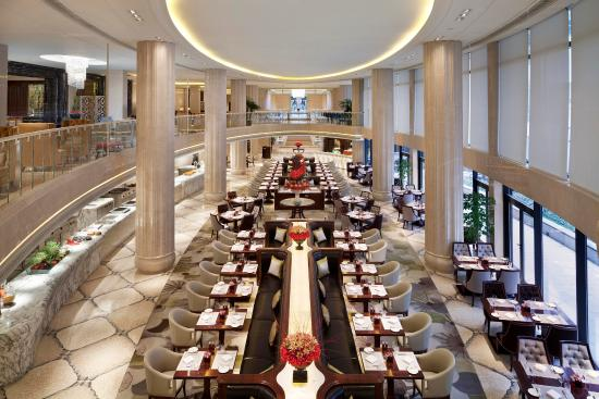 Waldorf Astoria Shanghai on the Bund: Grand Brasserie Garden Oasis By The Side