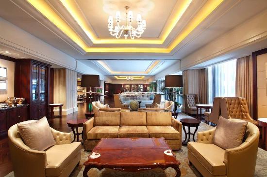 Waldorf Astoria Shanghai on the Bund: Library Lounge